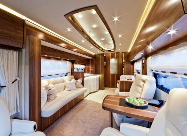 Autocaravanas de lujo exclusividad sobre ruedas - Ver casas de lujo por dentro ...
