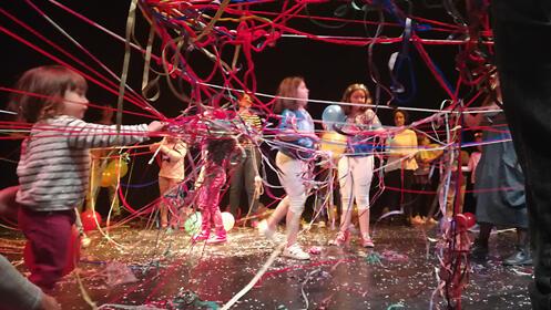 Campamento de teatro infantil Madrid