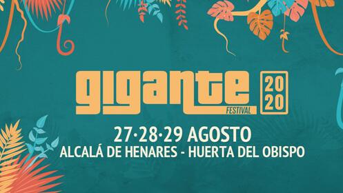 Entradas Festival Gigante 2020