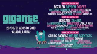 Entradas Festival Gigante 2019 Guadalajara