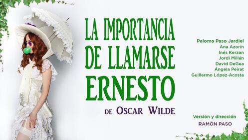 Entradas La importancia de llamarse Ernesto Madrid