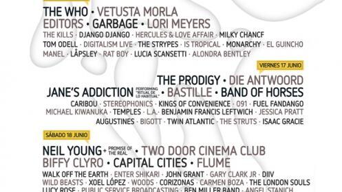 Entradas Mad Cool Festival Abono 3 Días