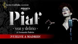 Entradas Piaf Madrid