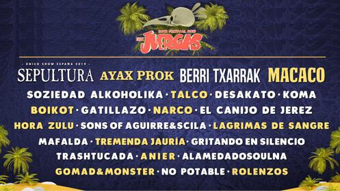 Entradas The Juergas Rock Festival 2019