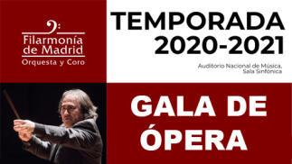 Entradas Gala de ópera Auditorio Nacional