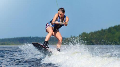 Wakesurf y Wakeboard Pantano de San Juan