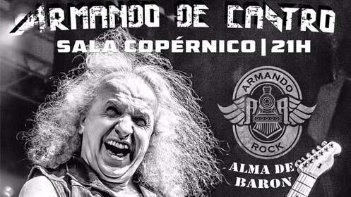 Concierto Armando de Castro Madrid