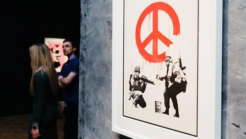 Entradas Exposición Banksy Madrid