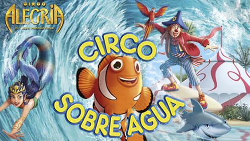 Entradas Circo sobre agua Madrid