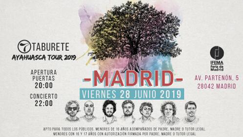 Entradas Taburete Madrid