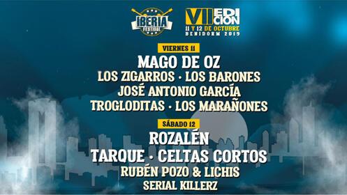 Entradas Iberia Festival 2019 Benidorm