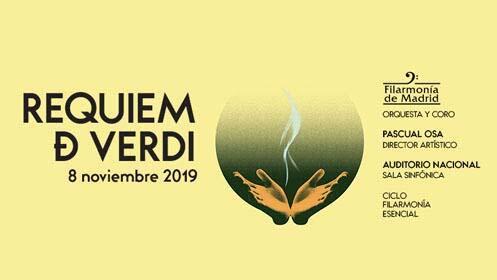Entradas Requiem Verdi Madrid