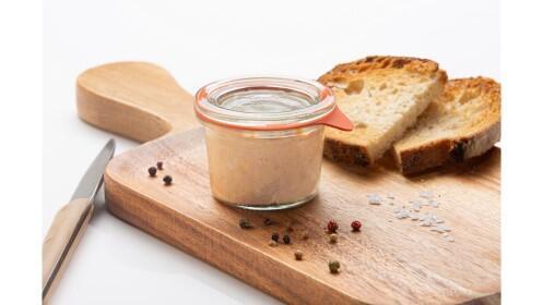 Pack de 6 botecitos de Foie Micuit  natural de 60 gramos