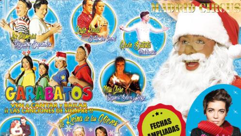 Entradas Madrid Circus de Garabatos
