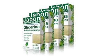 4 Jabones Dermatológicos de Glicerina desinfectante