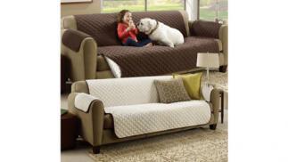 Funda reversible cubre sofá