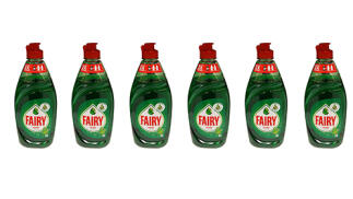 Pack de 6 botellas Fairy Ultra Original de 480ml