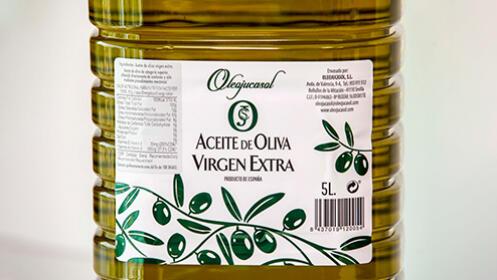 Garrafa 5L de aceite de oliva virgen extra