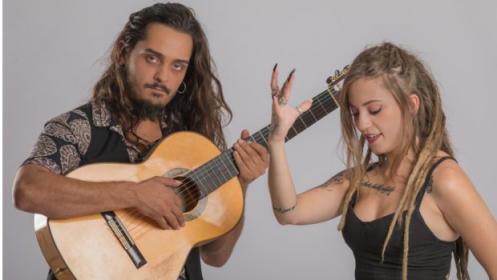 Aitor y María en concierto. La Tierra de los Niños