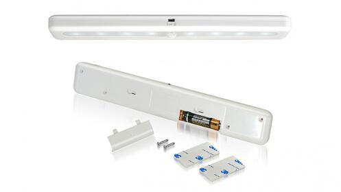 Barra de luz LED con sensor de presencia