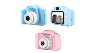 Cámara fotos y video HD 1080p para niños ¡con juegos integrados!