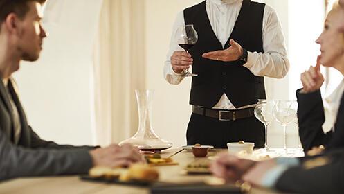 Cata de vinos con aperitivos