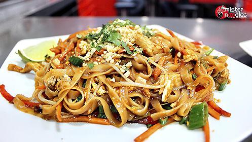 Cocina asiática para dos en Mister Noodles