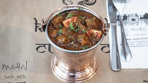 Cocina hindú para dos