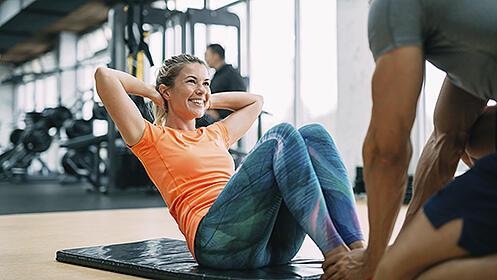 4 sesiones de entrenamiento personal