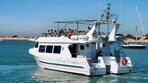 Excursión en catamarán por Parque Natural Bahía de Cádiz