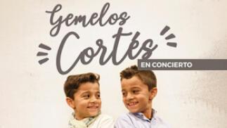 Gemelos Cortés en concierto