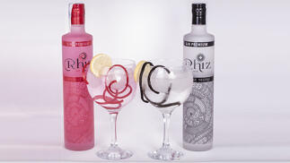 Gin Rhiz. Pack de Ginebras Premium