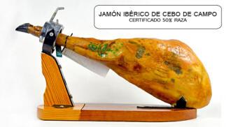 Jamón Ibérico cebo de campo certificado 50%
