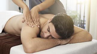 Masaje de descarga o antiestrés