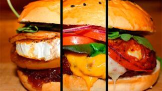 Menú completo de hamburguesa para dos en La Antojería Grill