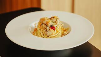 Menú italiano de lujo para dos en La Grazia