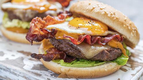 Taco, sándwich o hamburguesa en Amanecer