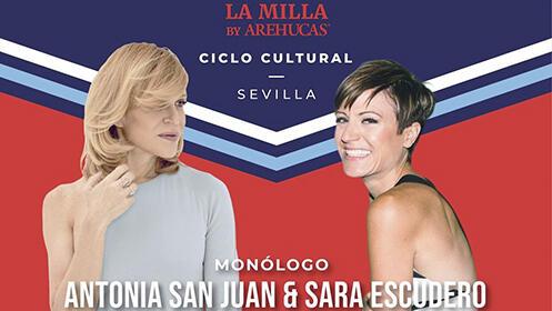 Antonia San Juan & Sara Escudero. Monólogos
