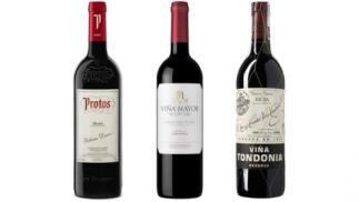 Pack de 3 botellas de 1,5L Magnum: Viña Tondonia Reserva  + Viña Mayor Crianza + Protos Roble