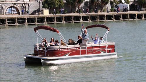 Paseo en catamarán por el Guadalquivir