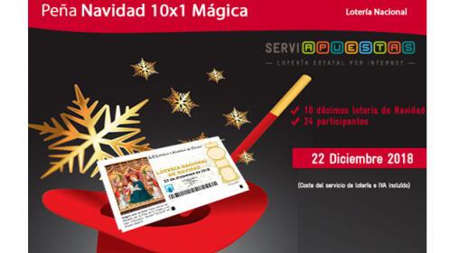 Peña 10X1 Navidad Mágica