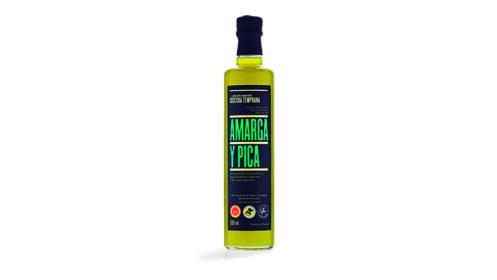 Pack 3 botellas AMARGA y PICA Aceite de Oliva Virgen Extra