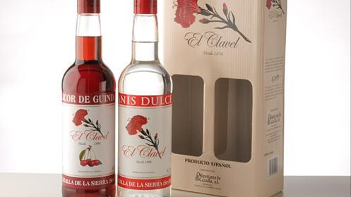 Pack anises y licores El Clavel
