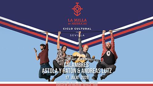 Astola y Ratón - Calambres & Andreas Lutz en concierto