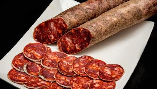 Lote Ibéricos de bellota de Guijuelo: lomo, chorizo, salchichón y queso