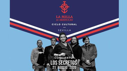 Concierto Los Secretos - La Milla