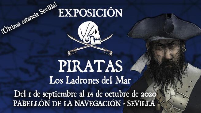 Exposición Piratas, los ladrones del mar