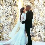 Kim y Kanye: seis años de feliz y excéntrico matrimonio, en imágenes