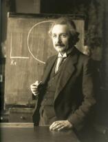 Альберт Эйнштейн, гений на плечах луча света
