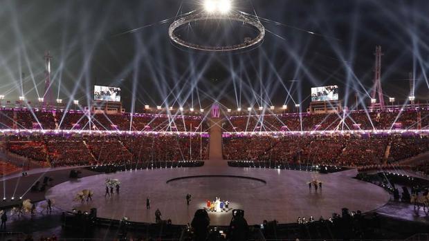 En imágenes, la apertura de los Juegos Olímpicos de Invierno 2018